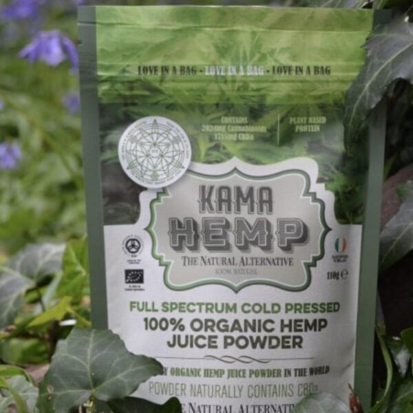 Hemp Juice Powder Organic - Kama Hemp